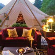 Самые дорогие палатки в мире (кемпинги)