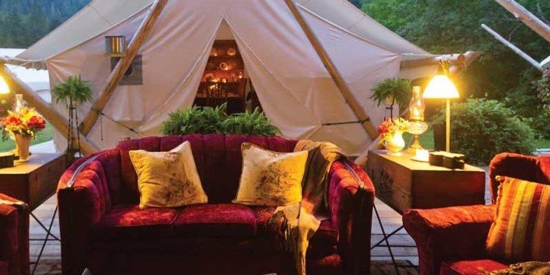 Самая дорогая палатка в мире