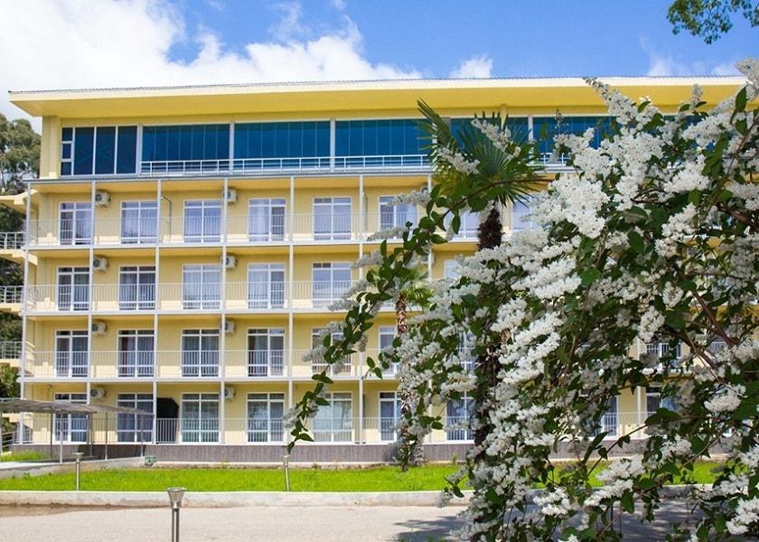 Самый дорогой отель Абхазии