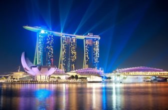 Самый дорогой отель в Сингапуре Marina Bay Sands