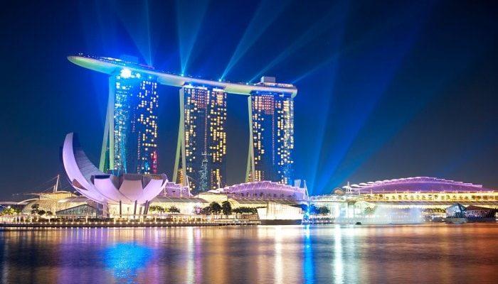 Самый дорогой отель в Сингапуре Marina Bay Sands